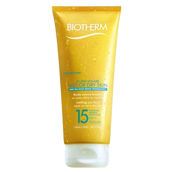 BIOTHERM Fluide Solaire Wet or Dry Skin SPF15 200 ml