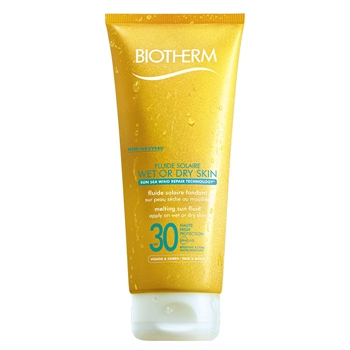 Fluide Solaire Wet or Dry Skin SPF30 de BIOTHERM