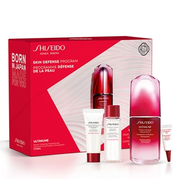 Shiseido Ultimune Power Infusing Concentrate Estuche 50 ml + 3 Productos