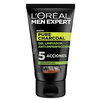 Pure Power Charcoal Gel Limpiador Anti-Imperfecciones de L'Oréal Men Expert