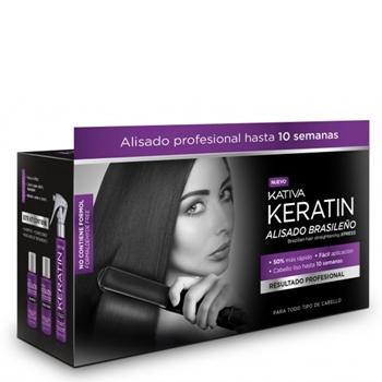 KATIVA Kit Alisado Brasileño Express Kativa 3 Productos