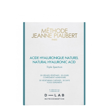 Jeanne Piaubert L'Hydro-Active 24 Heures Acide Hyaluronique Naturel 30 Cápsulas