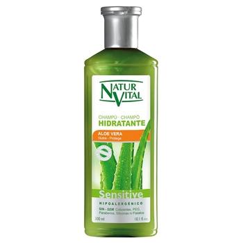 Champú Sensitive Hidratante Aloe Vera de Natur Vital