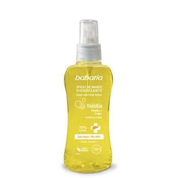 Babaria Spray de Manos Higienizante Vainilla 100 ml