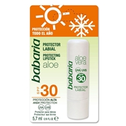 Protector Labial Aloe Vera SPF30 de Babaria
