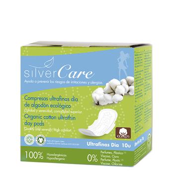 Compresas Ultrafinas Día con Alas de Silvercare