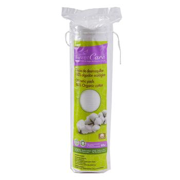 Silvercare Discos de Desmaquillar Algodón Ecológico 80 Unidades