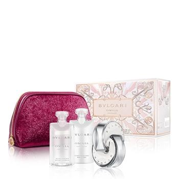 Bulgari Omnia Crystalline Estuche 65 ml Vaporizador + Body Lotion 75 ml + Shower Gel 75 ml + Neceser