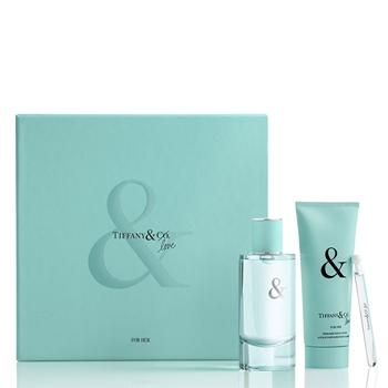 Tiffany & Co. TIFFANY & LOVE FOR HER Estuche 90 ml Vaporizador + Body Lotion 100 ml + 4 ml