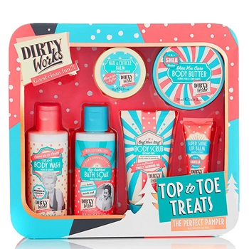 Dirty Works Top to Toe Treats Estuche 6 Productos