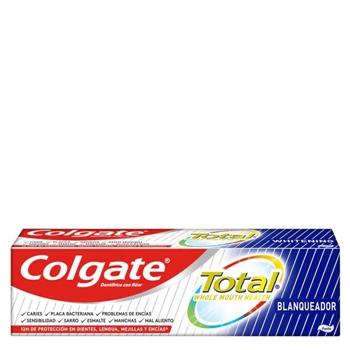 Colgate Total Blanqueador Dentífrico 75 ml + 33% Gratis