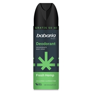 Desodorante Body Spray Fresh Hemp de Babaria