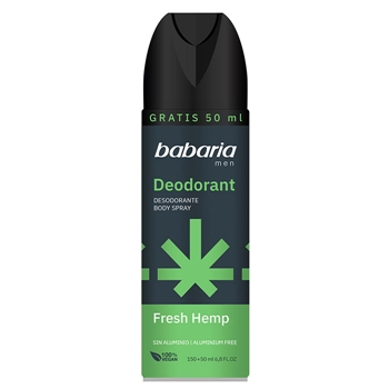 Babaria Desodorante Body Spray Fresh Hemp 200 ml