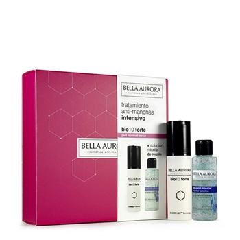 Bella Aurora BIO 10 Forte Piel Normal-Seca Estuche 30 ml + Solución Micelar Anti-Manchas 100 ml