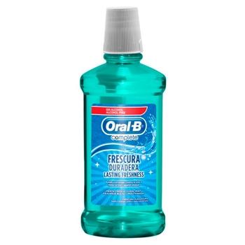 Oral-B Complete Enjuague Bucal Frescura Duradera 500 ml