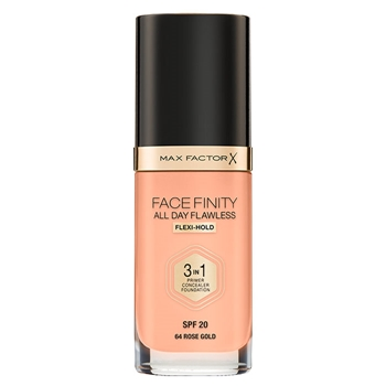 Max Factor Facefinity All Day Flawless Flexi-Hold 3 in 1 Nº 64 Rose Gold