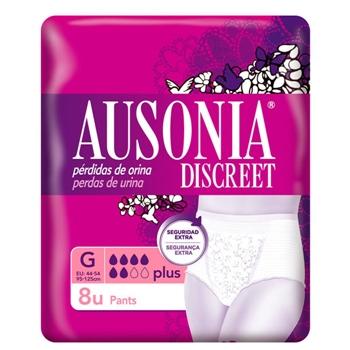 Ausonia DISCREET Pants G 8 Unidades