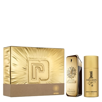 Paco Rabanne 1 MILLION PARFUM Estuche 100 ml Vaporizador + Desodorante Spray 150 ml