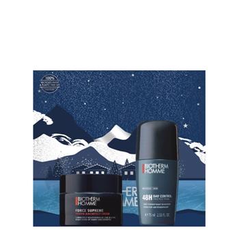 BIOTHERM HOMME FORCE SUPREME Youth Architect Cream Estuche 50 ml + Day Control Desodorante Roll-On 75 ml