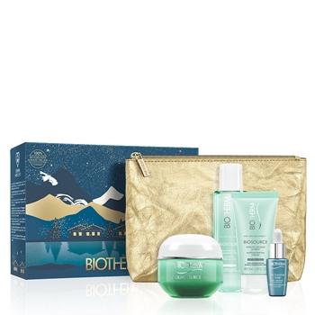 BIOTHERM Aquasource Gel Piel Normal Mixta Estuche 50 ml + 3 Productos + Neceser