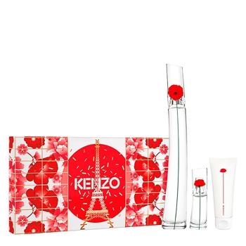 KENZO FLOWER BY KENZO Estuche 100 ml Vaporizador + Body Lotion 75 ml + 15 ml Vaporizador