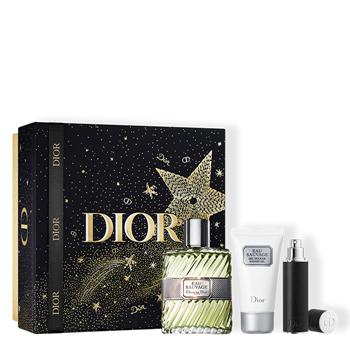 Dior EAU SAUVAGE Cofre 100 ml Vaporizador + Gel de Ducha 50 ml + 10 ml Vaporizador