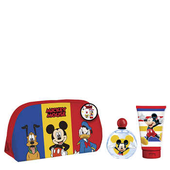 Mickey Mouse Mickey Mouse Estuche 50 ml + Gel de Baño 100 ml + Neceser