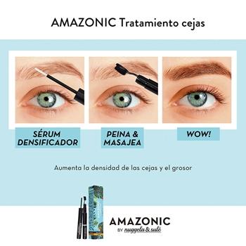 Amazonic Cejas Sérum Densificador + Cepillo de Nuggela & Sulé