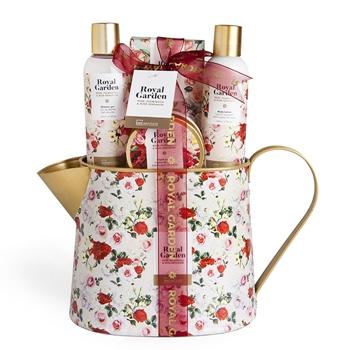 IDC INSTITUTE Royal Garden Tin Can Estuche 4 Productos