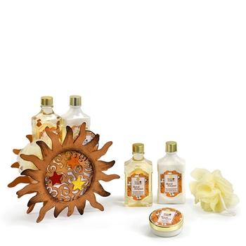 Bon Matín Set de Baño Sol Metálico 4 Productos