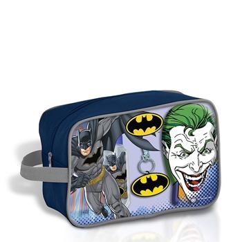 Batman Batman EDT Estuche 90 ml + Gel Fijador para el Cabello 300 ml + Llavero + Neceser