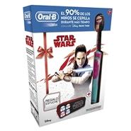 Cepillo Eléctrico Kids Star Wars Estuche de Oral-B
