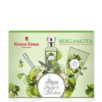 Álvarez Gómez Agua Fresca de Flores Bergamota Estuche 175 ml + Roll-On 10 ml + Gel de Baño 150 ml