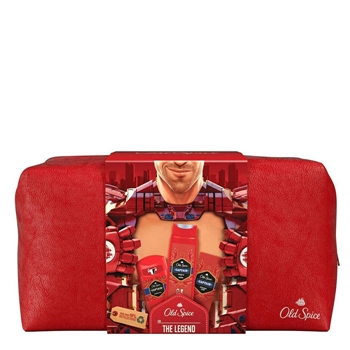 Old Spice Captain After Shave Lotion Estuche 100 ml + 2 Productos + Neceser