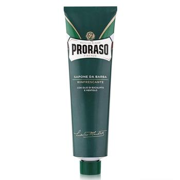 PRORASO Tubo Crema Afeitar Eucalipto y Mentol 150 ml