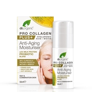Pro-Collagen Plus + Antiedad Probióticos de Dr. Organic
