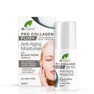 Pro-Collagen Plus + Antiedad Perla Negra de Dr. Organic