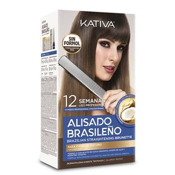 Alisado Brasileño Brunette de KATIVA