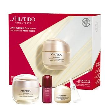Shiseido Benefiance Wrinkle Smoothing Cream Estuche 50 ml + 3 Productos