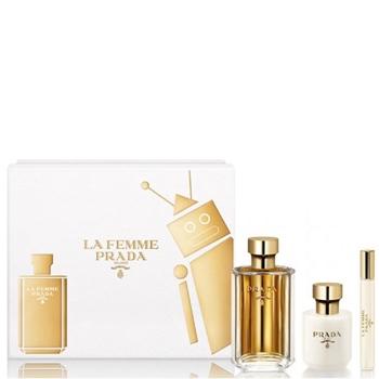 Prada La Femme Estuche 100 ml Vaporizador + Body Lotion 100 ml + Roll On 10 ml