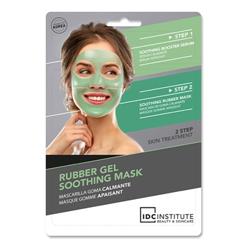 IDC INSTITUTE Rubber Gel Soothing Mask 1 Unidad