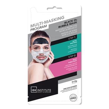IDC INSTITUTE Multi-Masking Program Black Bubbles 5 gr + 15 gr