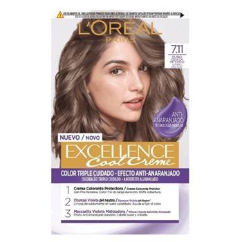 L'Oréal Excellence Cool Creme 7.11 Rubio Ceniza Intenso