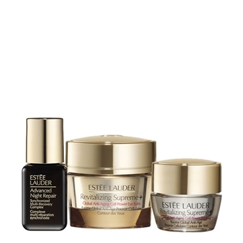 Estée Lauder Revitalizing Supreme + Global Anti-Aging Cell Power Eye Balm Estuche 15 ml + 2 Productos