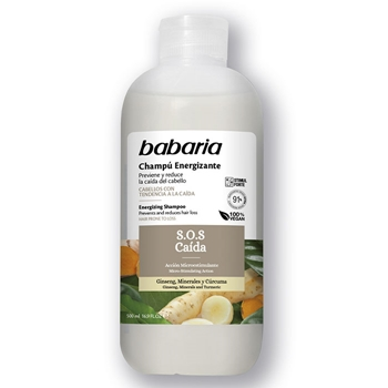 Babaria Champú Energizante S.O.S Caída 500 ml