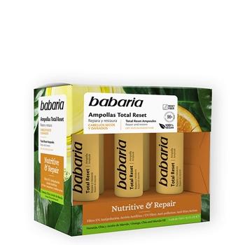 Babaria Ampollas Total Reset Nutritive & Repair 5 Unidades x 15 ml