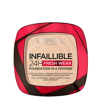 L'Oréal Infallible 24H Fresh Wear Compact Powder Nº 020 Ivory