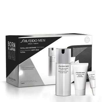Shiseido Men Total Revitalizer Light Fluid Estuche 80 ml + 2 Productos + Neceser