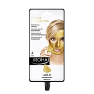 Mascarilla Peel Off Reafirmante Oro 24K de Iroha Nature