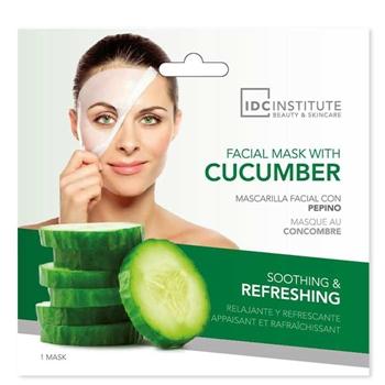 IDC INSTITUTE Cucumber Mask 1 Unidad